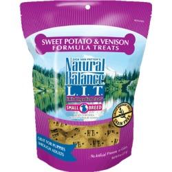 Natural Balance L.I.D. Limited Ingredient Diets Treats Sweet Potato & Venison Small Breed 8 oz