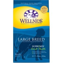 Wellness Super5Mix Large Breed Adult Dry Dog Food 15 lb