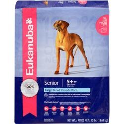 Eukanuba Large Breed Senior Dry Dog Food 30 lb bag