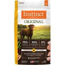 Nature's Variety Instinct Original Grain-Free Recipe with Real Chicken Dry Dog Food 4 lb