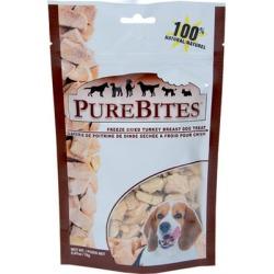 PureBites Freeze-Dried Dog Treats Turkey 2.47oz