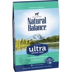 Natural Balance Ultra Grain Free Chicken Dry Dog Food 24 lb