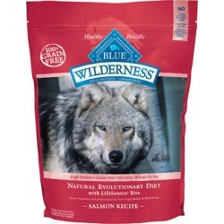 Blue Buffalo Wilderness Adult Dog Dry Food Salmon Recipe 11 lb bag