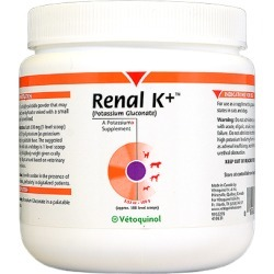 Urinary Tract & Kidneys Medication, Vetoquinol Renal K+ Powder 100 g