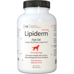 Lipiderm Gel Capsules Large Dogs 120 ct