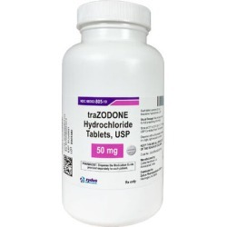 Medications Medication, Trazodone 100 mg (sold per tablet) found on Bargain Bro from 1-800-petmeds for $0.32