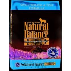 Natural Balance L.I.D. Limited Ingredient Diets Sweet Potato & Fish Formula 13 lb