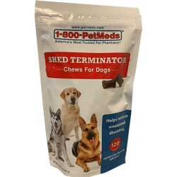 Shed Terminator Chews For Dogs 120 ct