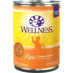 Wellness Canned Cat Food Chicken Formula 12/12.5 oz
