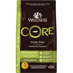 Wellness CORE Reduced Fat Dry Dog Food 4 lb