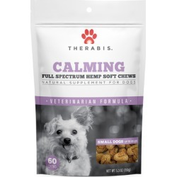 Calming Hemp Soft Chews for Small Dogs 60 ct