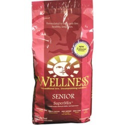 Wellness Super5Mix Dry Dog Food Senior 15 lb