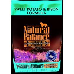 Natural Balance L.I.D. Limited Ingredient Diets Sweet Potato & Bison Formula 4.5 lb