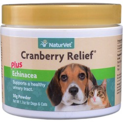 Urinary Tract & Kidneys Medication, NaturVet Cranberry Relief Plus Echinacea 50 gm Powder