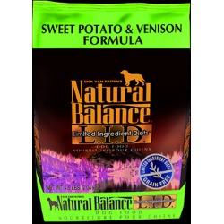Natural Balance L.I.D. Limited Ingredient Diets Sweet Potato & Venison Formula 4.5 lb