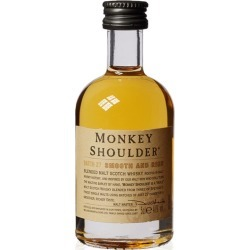 Miniature Monkey Shoulder 5cl found on Bargain Bro from 31 Dover for £5