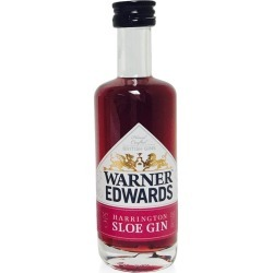 Miniature Warner Edwards Sloe Gin 5cl found on Bargain Bro UK from 31 Dover