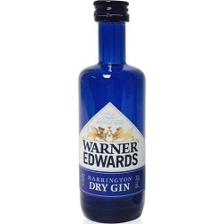 Miniature Warner Edwards Dry Gin 5cl found on Bargain Bro from 31 Dover for £5
