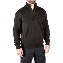 5.11 Tactical Men's 1/4 Zip Job Shirt (Black)