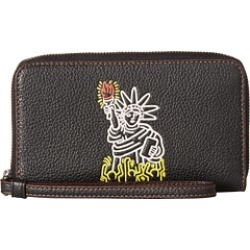 Keith Haring Pebbled Leather Phone Wallet by COACH at 6pm. Read COACH Keith Haring Pebbled Leather Phone Wallet found on Bargain Bro from  for $41.99