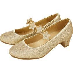 Glitter Star Flamenco Shoes Gold found on Bargain Bro UK from Accessorize