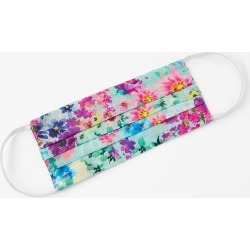 Bright Floral Face Covering in Pure Cotton found on Bargain Bro UK from Accessorize