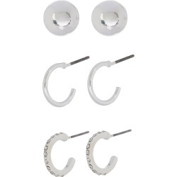 Sparkle Mini Hoop and Stud Earring Set found on Bargain Bro UK from Accessorize