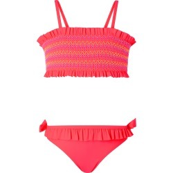 Accessorize Girls Pink Smock Bandeau Bikini, Size: 5-6 Years found on Makeup Collection from Accessorize for GBP 16.05