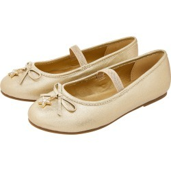 Star Charm Ballet Flats Gold found on Bargain Bro UK from Accessorize