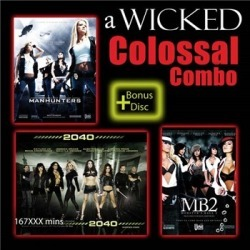 Wicked Colossal 4 Combo Pack found on Bargain Bro India from Adam and Eve for $34.95