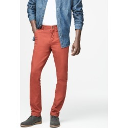 Aeropostale Skinny Color Wash Reflex Chinos - Fire Roasted, 34X34 found on Bargain Bro from Aeropostale for USD $37.62