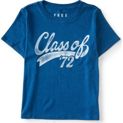 Aeropostale Free State Class of '72 Baby Tee - Blue, XLarge