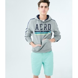 Aeropostale Classic Reflex Flat-Front Shorts - Aqua Marine, 29 found on Bargain Bro from Aeropostale for USD $33.82