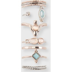 Aeropostale Oval Ring 10-Pack - Multi, 7 found on Bargain Bro Philippines from Aeropostale for $13.00
