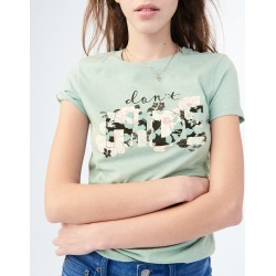 Aeropostale Free State Don't Hide Graphic Tee - Aqua, Small found on Bargain Bro Philippines from Aeropostale for $24.50