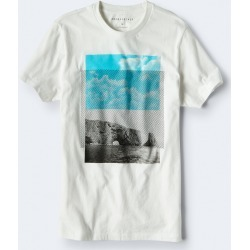 Aeropostale Rising Mountain Graphic Tee - Bleach, 3XL found on Bargain Bro Philippines from Aeropostale for $24.50