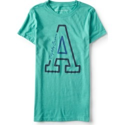 Aeropostale A Eighty-Seven Graphic T - Marine Green, XSmall found on Bargain Bro India from Aeropostale for $24.50
