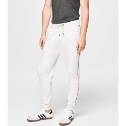 Aeropostale Heathered Joggers - Lightest Heather Grey, XLarge found on Bargain Bro Philippines from Aeropostale for $44.50