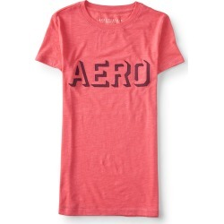Aeropostale Aero Knockout Graphic Tee - Cool Pink, XLarge found on Bargain Bro India from Aeropostale for $24.50