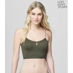 Aeropostale Lld Keyhole Bralette - Crocodile, Small found on Bargain Bro from Aeropostale for USD $18.62