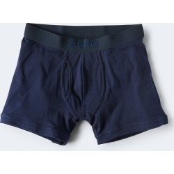 Aeropostale Solid Logo Reflex Knit Boxer Briefs - Navy, XLarge found on Bargain Bro India from Aeropostale for $16.50