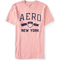 Aeropostale Aero New York Trademark Logo Graphic Tee - Black, Medium found on Bargain Bro from Aeropostale for USD $14.82
