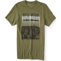 Aeropostale New York Five Boroughs Graphic Tee - Olive, Large found on Bargain Bro Philippines from Aeropostale for $24.50