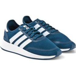 adidas Originals Navy and White N-5923 Trainers 38 (UK 5)