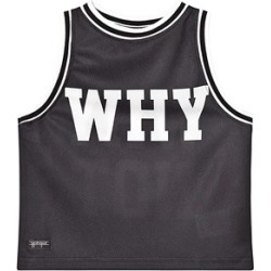 Yporqué Why Not Vest Tee Black 2 Years