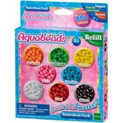 Aquabeads Solid Bead Pack 4 - 10 years