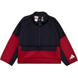 adidas Performance adidas Performance Black, White & Red ID Cropped Track Top 9-10 years (140 cm)