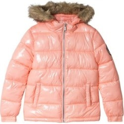 Hype Peach Fade Branded Puffer Jacket 11-12 years found on MODAPINS from Alex and Alexa for USD $64.35