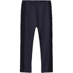 Dr Kid Navy Knitted Side Detail Leggings 3 years found on Bargain Bro India from Alex and Alexa for $25.35