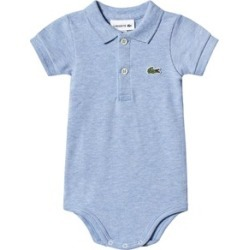 Lacoste Blue Pique Polo Body in Gift Box 12 months
